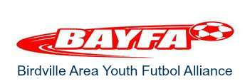 Birdville Area Youth Futbol Association Logo